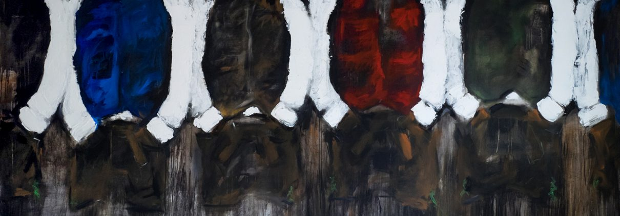 6_Burschen in Lederhose